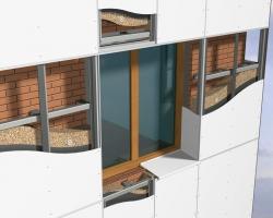 Вентилируемые фасады: виды подсистем и способы крепления