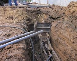 Как проложить трубу под дорогой: метод прокола