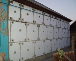 Утепление фасадов пенопластом. Продолжение 1