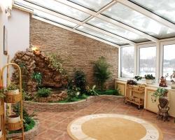 Как построить зимний сад на участке
