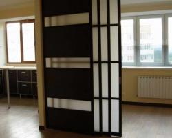 Перегородки в интерьере квартиры