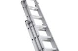 Лестница трехсекционная алюминиевая – выбор профессионального строителя