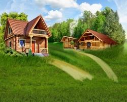 Быстрое решение жилищных проблем. Сначала строим баню, а потом возводим дом
