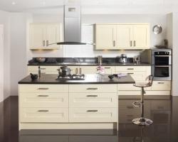 Бежевая кухня
