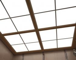 Потолки из акрилового стекла: особенности материала
