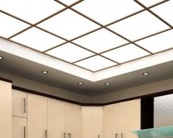 Потолки из акрилового стекла: монтаж