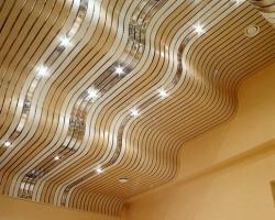 Алюминиевые потолки в современном интерьере