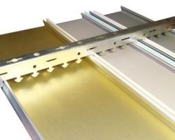 Алюминиевые потолки в современном интерьере: особенности монтажа