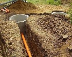 Устройства канализационных систем для дачи: типы и их элементы