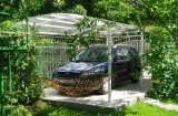 Как оборудовать парковку на даче