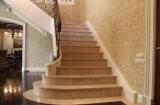 Лестница из мрамора – лучшее решение для красоты и надежности