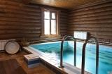 Особенности строительства бани с бассейном