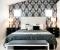 Как выбор обоев влияет на размер и форму спальни?