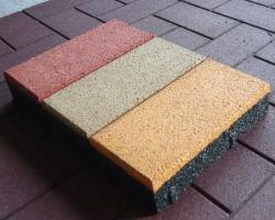 Резиновая плитка: преимущества и области применения