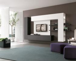 Особенности оформления гостиной в стиле хай-тек