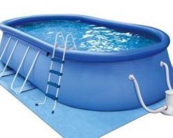 Современные надувные бассейны
