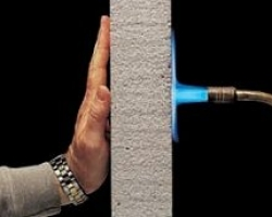 Откалывание нормального бетона и лёгкого бетона под воздействием огня