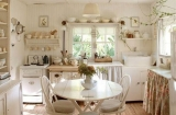 Романтичный, нежный, непревзойденный шебби-шик на вашей кухне