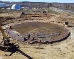 Правила устройства монолитного фундамента для нефтяного резервуара