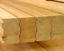 Клееный брус: современный строительный материал для загородного домостроения