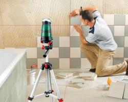 Облицовываем стены плиткой