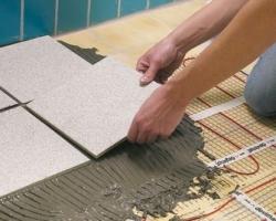 Испанская керамическая плитка для облицовки теплых полов