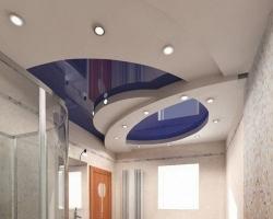 Многоуровневые натяжные потолки - технические характеристики и свойства