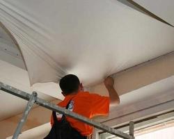 Секреты профессионалов: как самостоятельно снять натяжной потолок. Продолжение 1