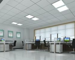 Потолок в офисном помещении