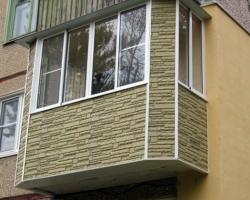 Сравнительная характеристика материалов для наружной отделки балкона
