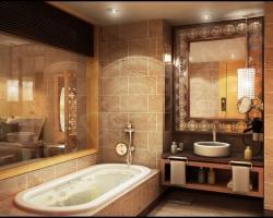 Как сделать интерьер ванной комнаты оригинальным?