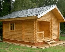 Основы и правила строительства бани из дерева