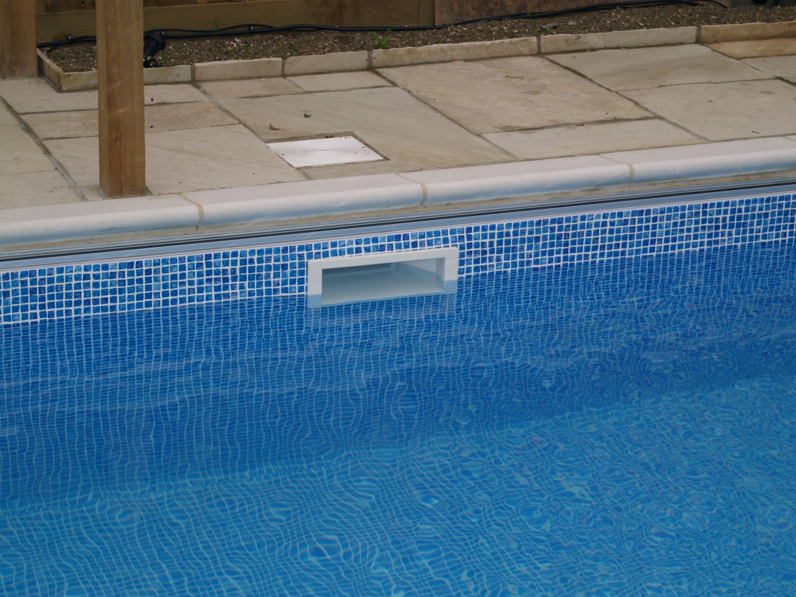 Встроенный скиммер для бассейна своими руками