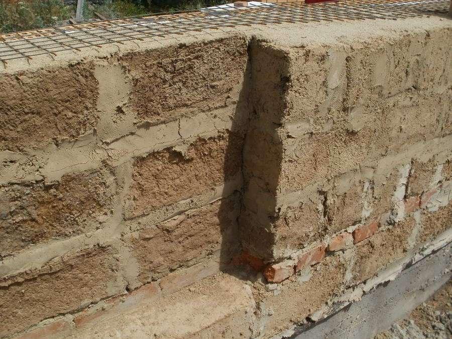 Блоки из глины своими руками