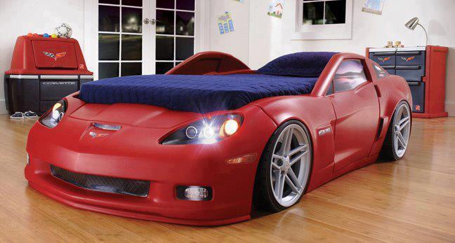 Детская кровать-машина может быть опасна для вашего ребенка