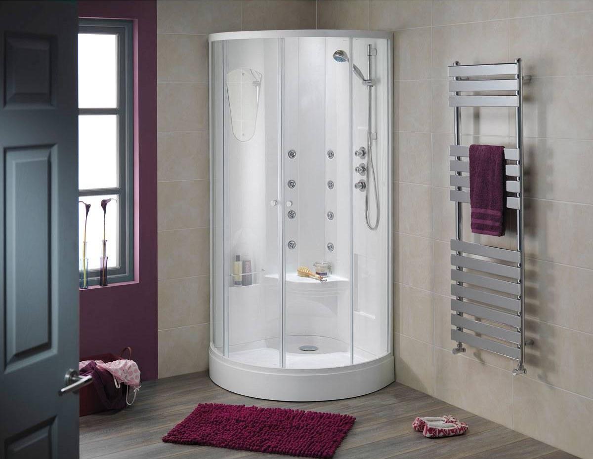 Душевые кабины с ванной - фото, цены, плюсы и минусы