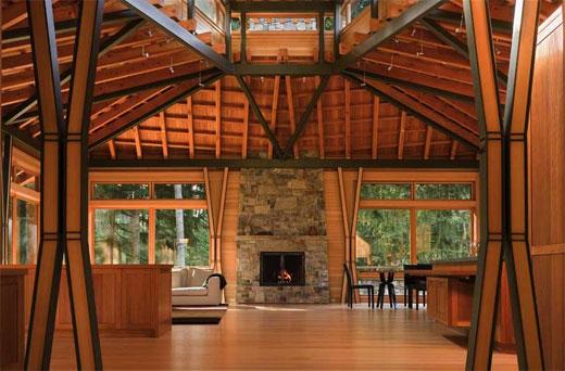 Экологичные дома из древесины