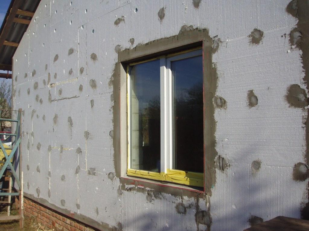 Отделка фасадов пенопластом фото