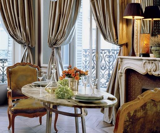 Парижская квартира в восточно-европейском стиле