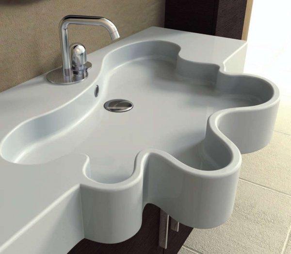 Ванная комната: игра контрастов