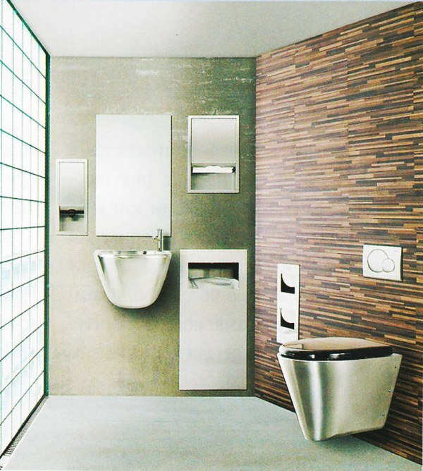 Ультрасовременная ванная комната