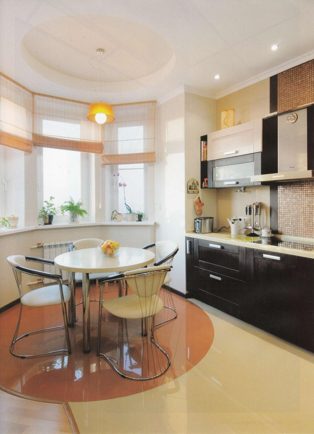 Дизайн эркера, оформление эркера на кухне и в гостиной ibud..