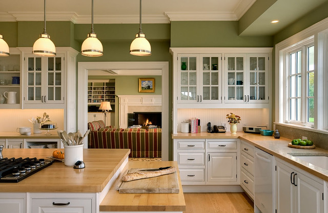 Модные тенденции кухонных интерьеров. Продолжение 2