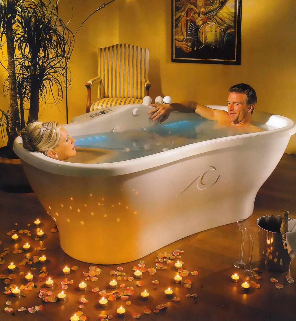 Спа-ванны с функцией медицинских процедур