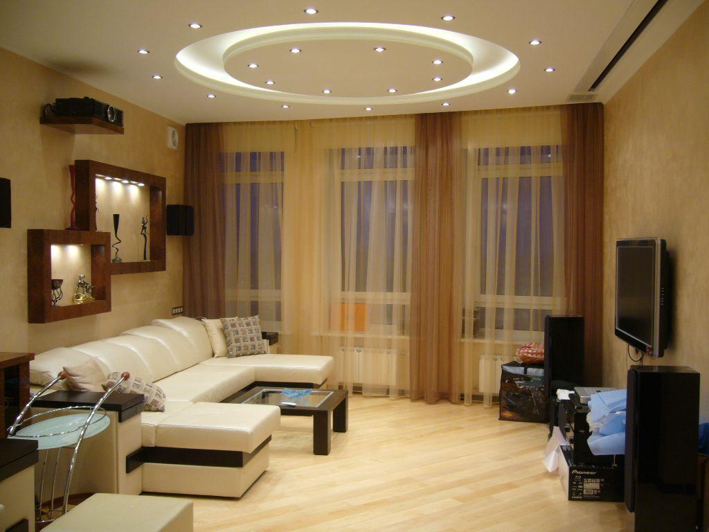 Гостиная – мебель и интерьер