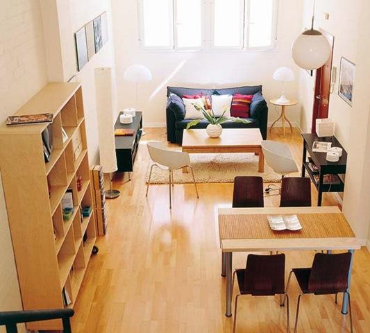 Мебель и дизайн интерьера малогабаритной квартиры