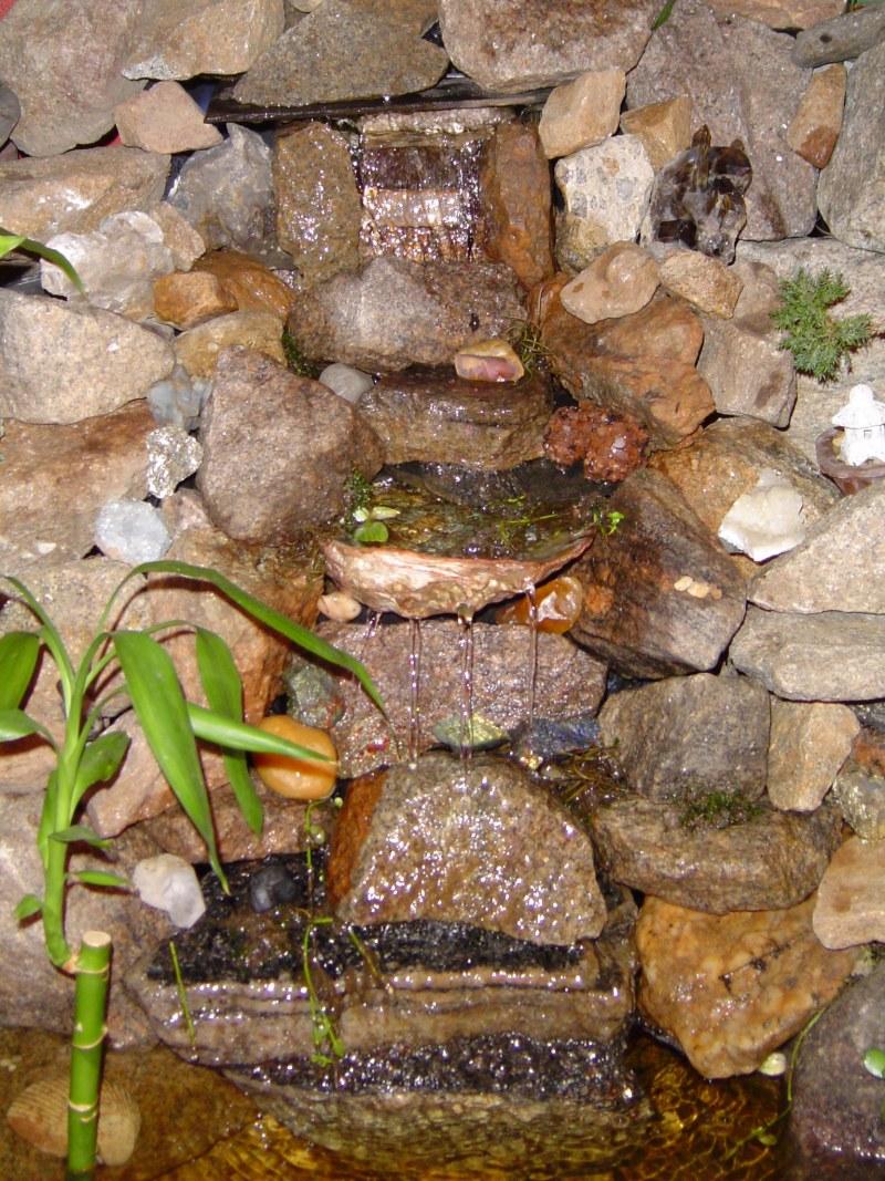 Декоративный фонтан в квартире