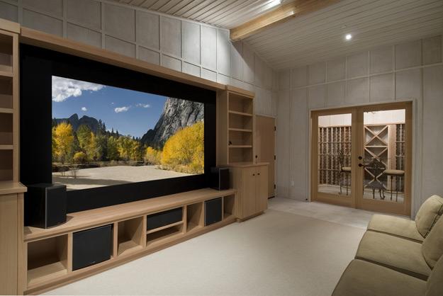 Как правильно разместить домашний кинотеатр?