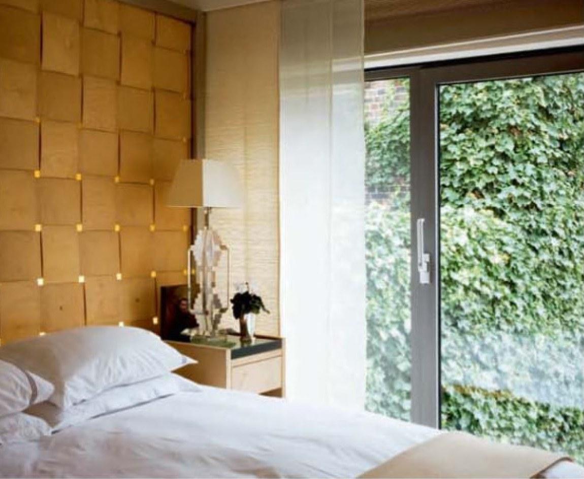 Стена как главное украшение интерьера