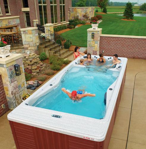 Плавательный спа-бассейн: ток/противоток и горячая зона. Продолжение 1